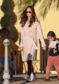 Megan Fox and Brian Austin Green take their kids to Color Me Mine in Los Angeles