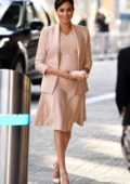 Meghan Markle visits The National Theatre in London, UK