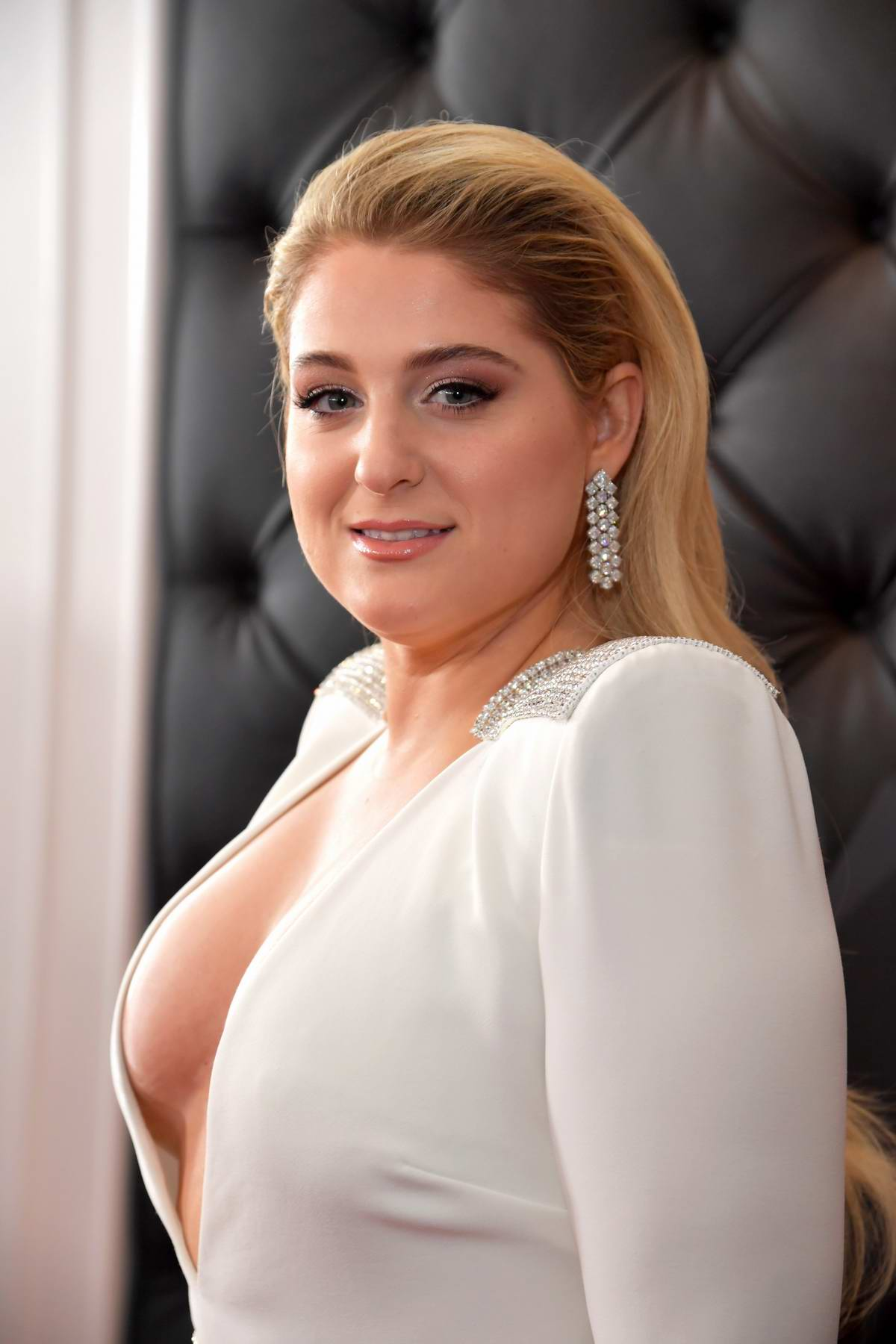 8f9e48595d4 meghan trainor attends the 61st annual grammy awards (2019 grammys ...
