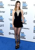 Mia Goth attends the 34th Film Independent Spirit Awards in Santa Monica, California