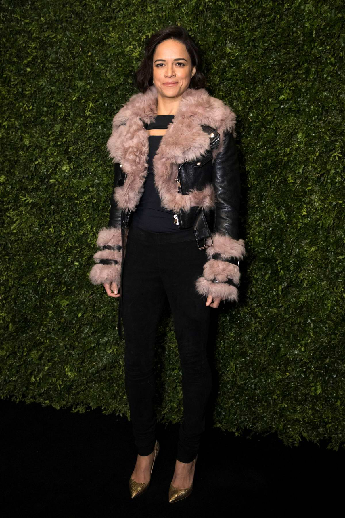Michelle Rodriguez attends Charles Finch x Chanel pre-Bafta dinner in London, UK