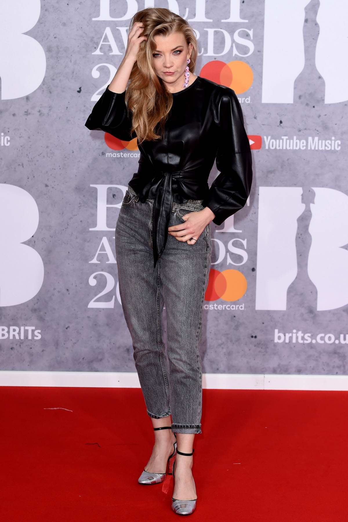 Natalie Dormer attends The BRIT Awards 2019 held at The O2 Arena in London, UK