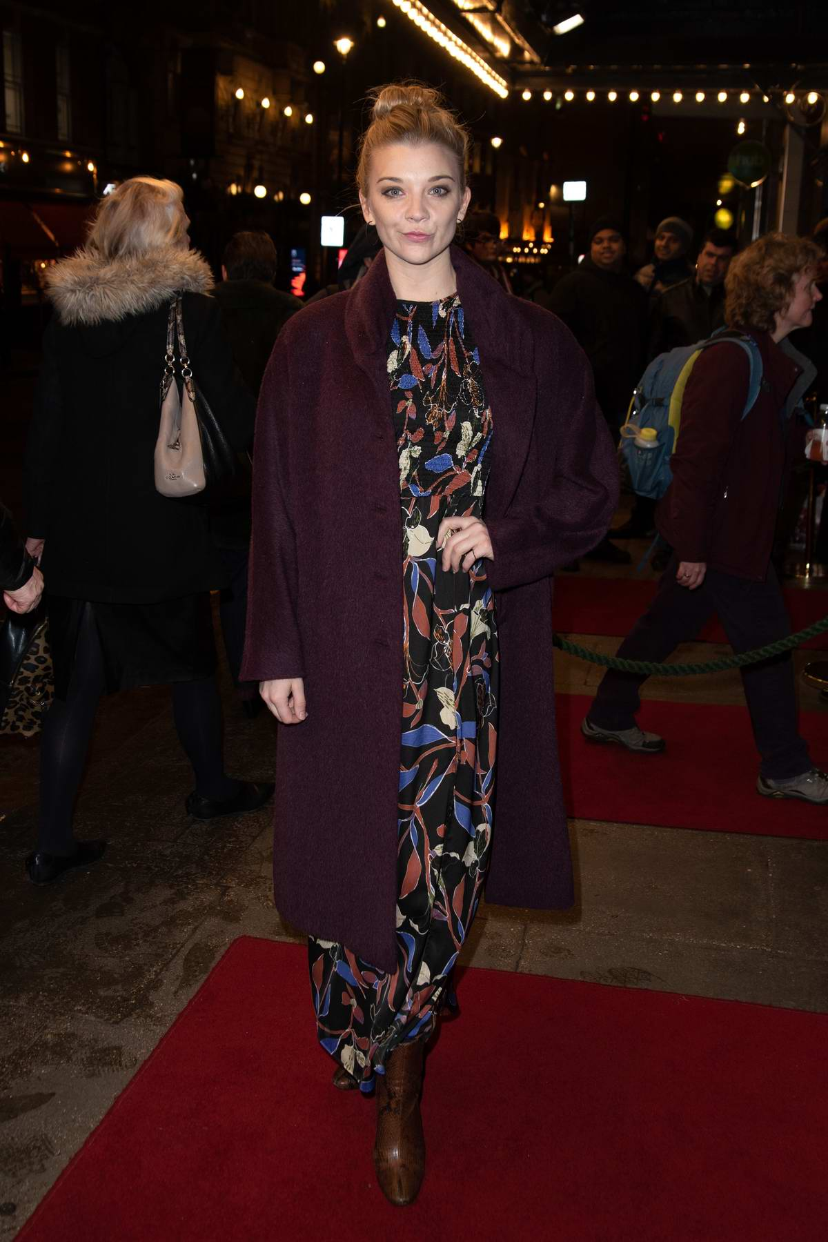 Natalie Dormer attends the press night after party for 'Home, I'm Darling' at Browns in London, UK