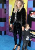 Naya Rivera attends The LEGO Movie 2: The Second Part premiere at the Regency Village Theatre in Westwood, California