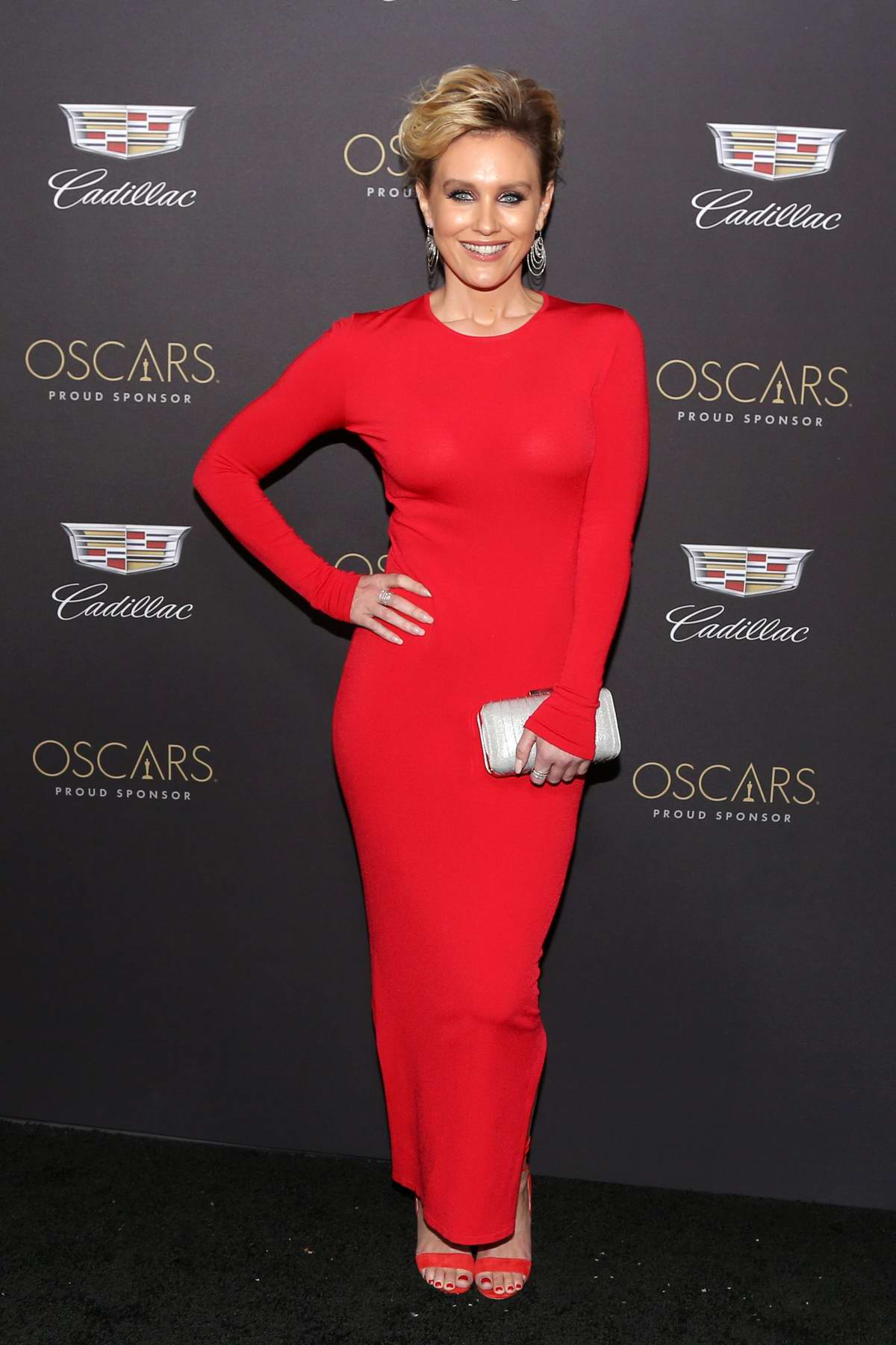 Nicky Whelan attends Cadillac Celebrates The 91st Annual Academy Awards held at the Chateau Marmont in West Hollywood, Los Angeles