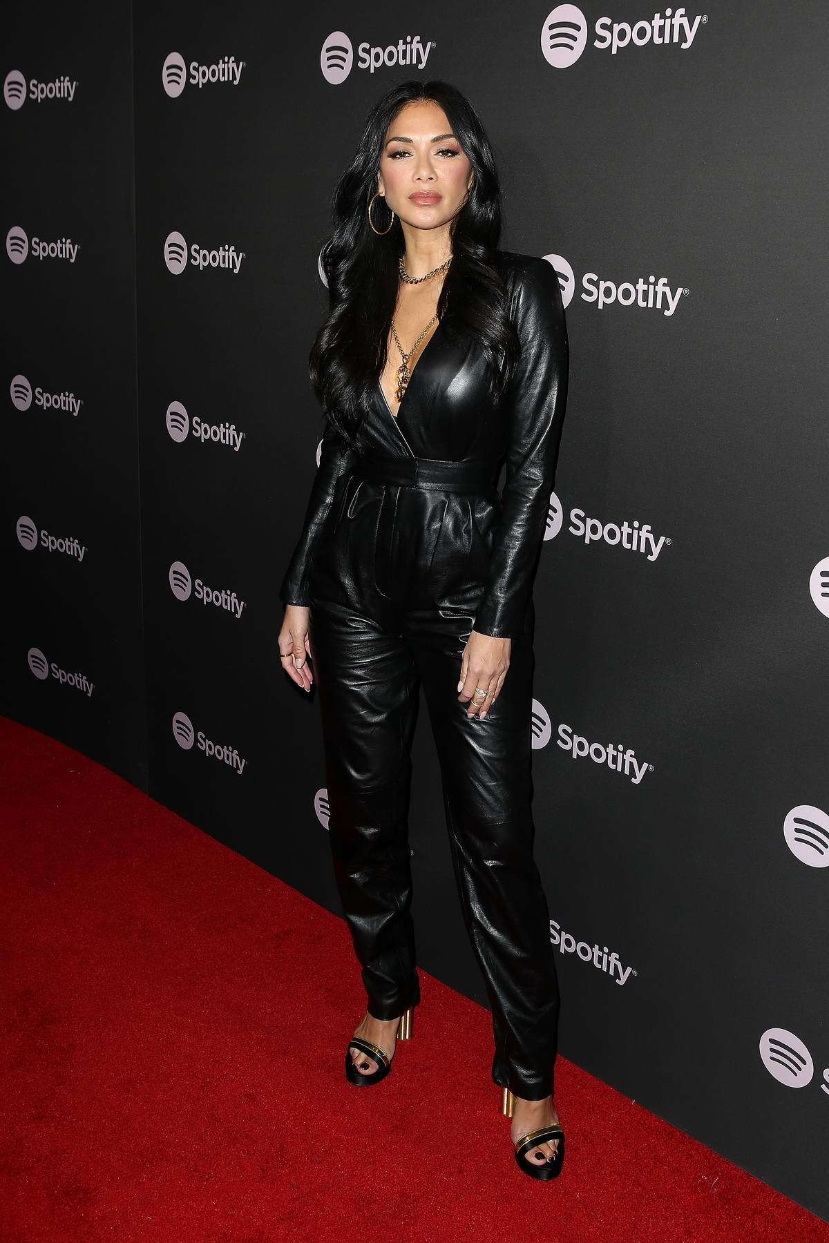 Nicole Scherzinger attends the Spotify 'Best New Artist 2019' event at Hammer Museum in Los Angeles