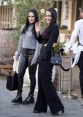 Nikki and Brie Bella put on a stylish display as they leave a lunch meeting at Avra in Beverly Hills, Los Angeles