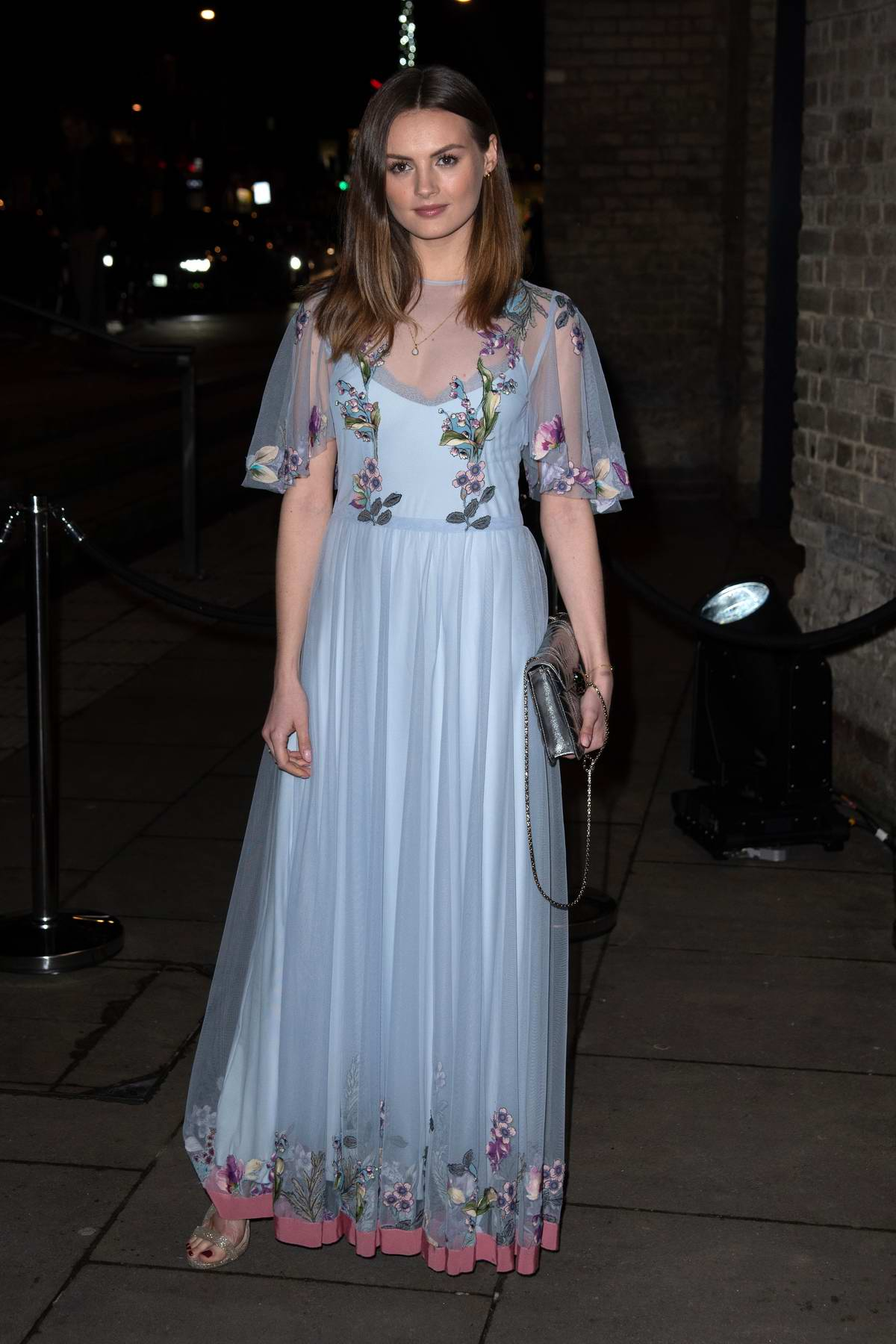 Niomi Smart attends the Fabulous Fund Fair during London Fashion Week at The Roundhouse in London, UK