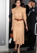 Olivia Culpo attends the Stuart Weitzman Party during New York Fashion Week in New York City