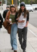 Paris Jackson makes a coffee run with her new boyfriend Gabriel Glenn in West Hollywood, Los Angeles