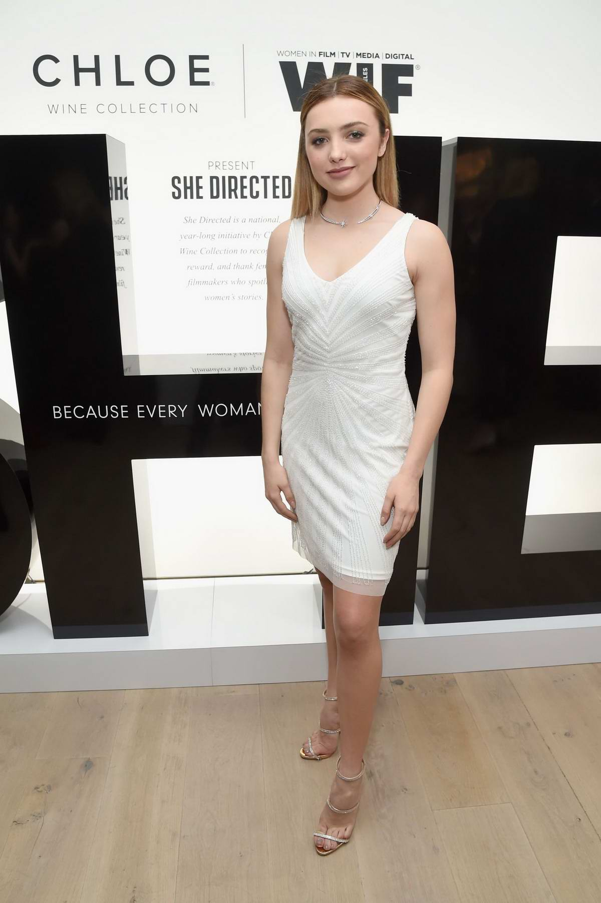 Peyton Roi List attends the Chloe Wine Collection Launches Its She Directed Campaign in Beverly Hills, Los Angeles