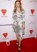 Peyton Roi List attends the Scarlet Night Party hosted by Virgin Voyages at PlayStation Theater in New York City