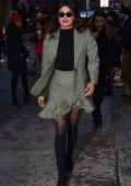 Priyanka Chopra attends Michael Kors fashion show during New York Fashion Week in New York City