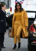 Priyanka Chopra stands out in all yellow as she steps out in London, UK