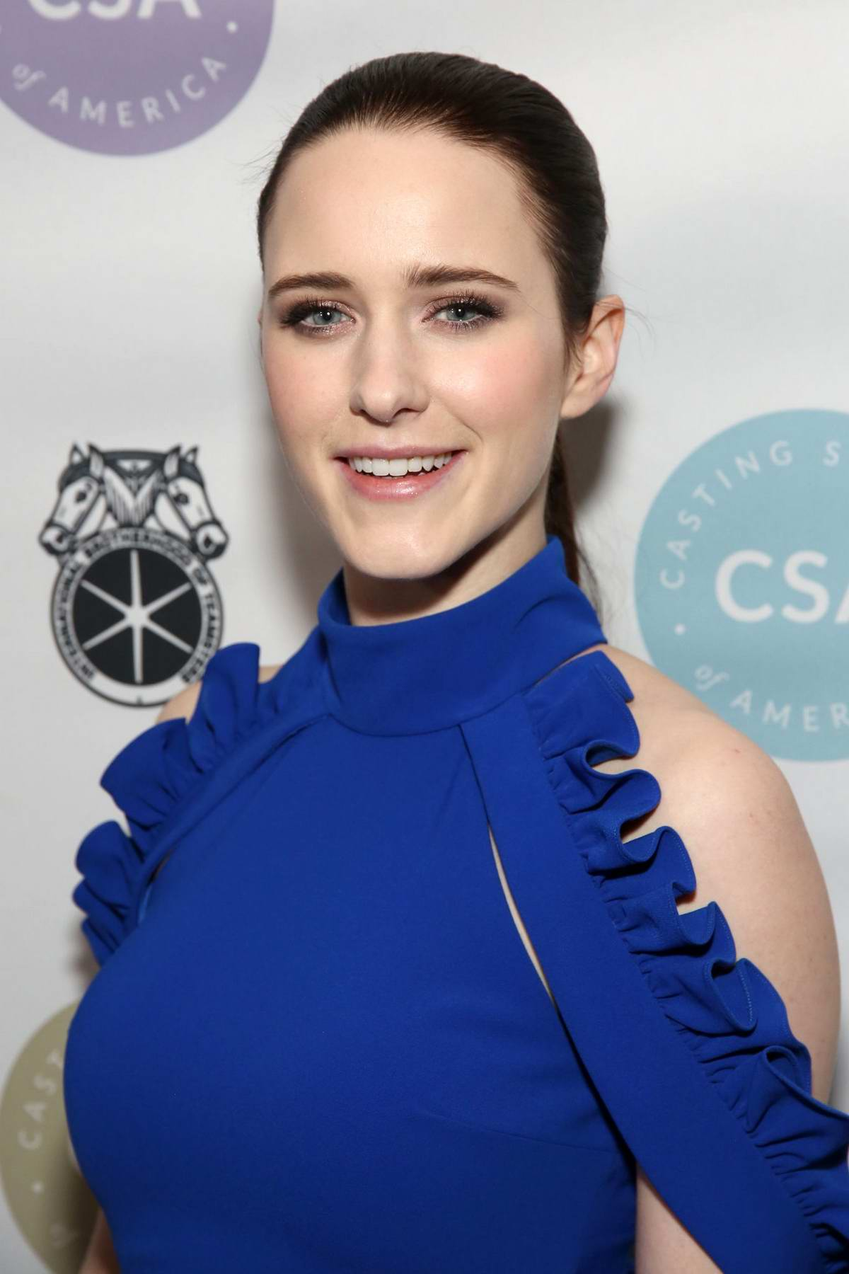 Rachel Brosnahan attends 34th Annual Artios Awards at Stage 48 in New York City