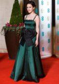 Rachel Brosnahan attends the 72nd EE British Academy Film Awards (BAFTA 2019) at Royal Albert Hall in London, UK