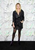 Rachel Hilbert attends the Saks celebration with Lupita Nyong'o, Carine Roitfeld and Halsey in New York City