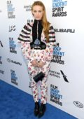 Riley Keough attends the 34th Film Independent Spirit Awards in Santa Monica, California