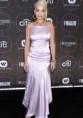 Rita Ora attends the Warner Music's Pre-Grammys Party at The NoMad Hotel in Los Angeles