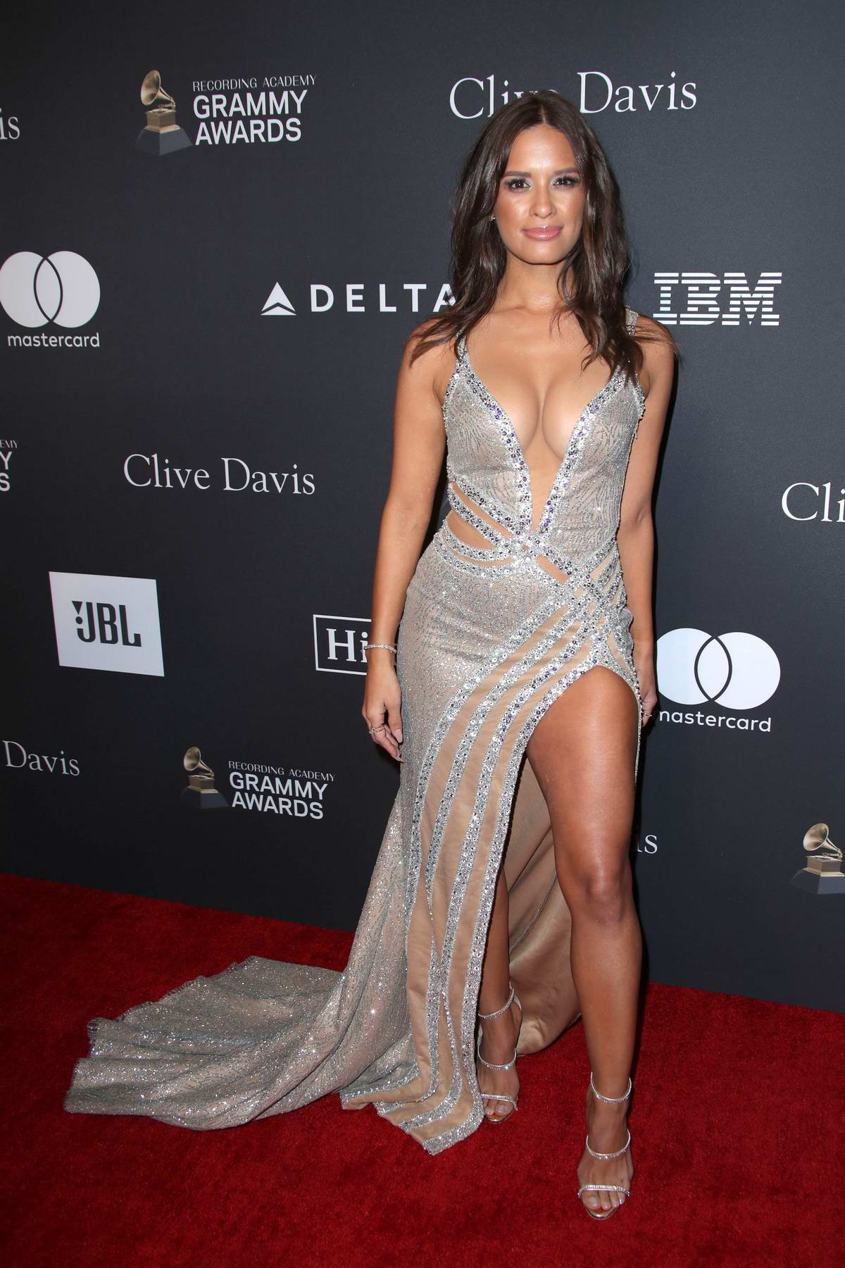 Rocsi Diaz attends the Clive Davis Pre-Grammy Gala and Salute to Industry Icons held at The Beverly Hilton in Los Angeles