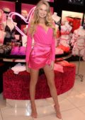 Romee Strijd at Victoria's Secret celebrates self-love this Valentine's Day at the Beverly Center in Los Angeles