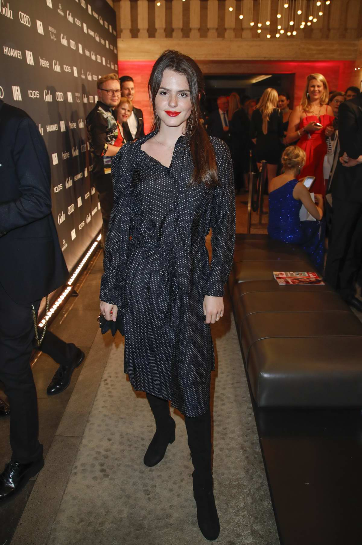 Ruby O. Fee attends the Opening Night by GALA & UFA during the 69th Berlinale International Film Festival in Berlin, Germany