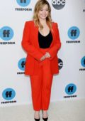 Sasha Pieterse attends the Freeform's TCA Winter Press Tour in Los Angeles