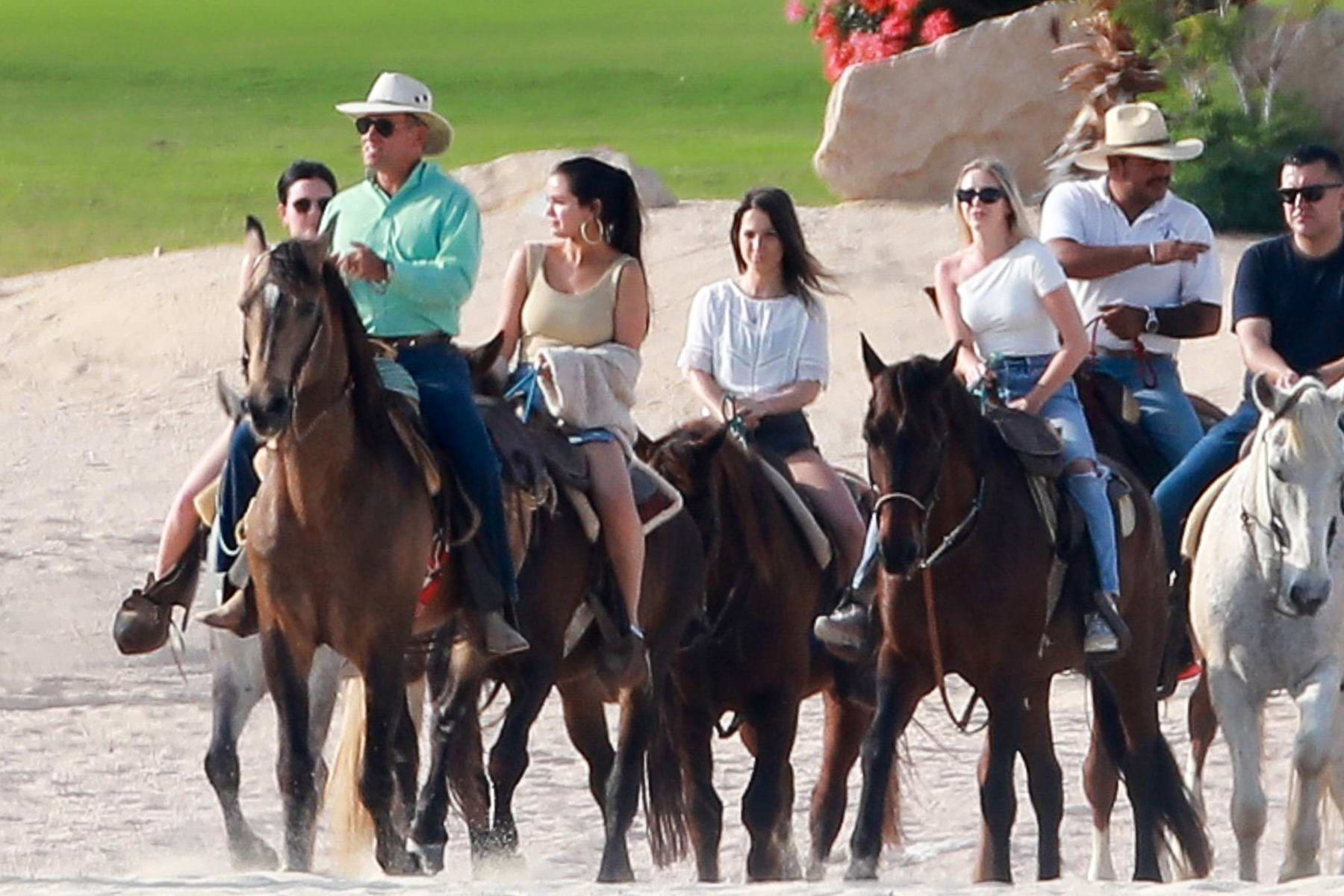 Selena Gomez Enjoys Some Horse Riding At The Beach With Friends In Cabo San Lucas Mexico 110219 4
