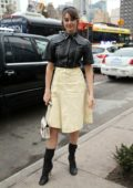 Shailene Woodley attends Proenza Schouler show during New York Fashion Week in New York City