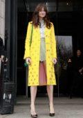 Shailene Woodley attends the Carolina Herrera fashion show during New York Fashion Week in New York City