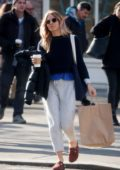 Sienna Miller keeps it casual while out running errands in New York City