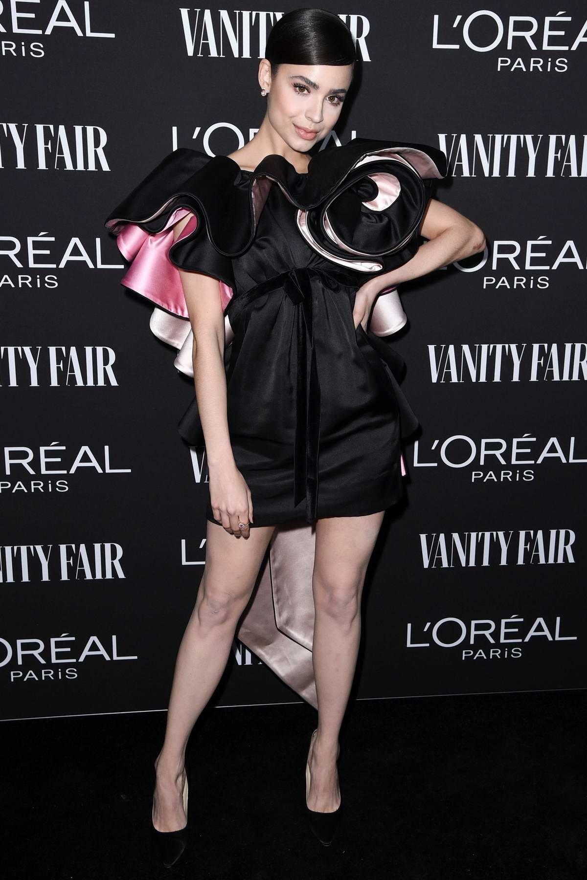Sofia Carson attends the Vanity Fair and L'Oréal Paris Celebrate New Hollywood in Los Angeles