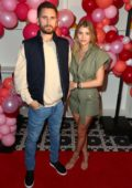 Sofia Richie and Scott Disick celebrates Valentine's Day at San Diego's new Theatre Box Entertainment Complex in San Diego, California