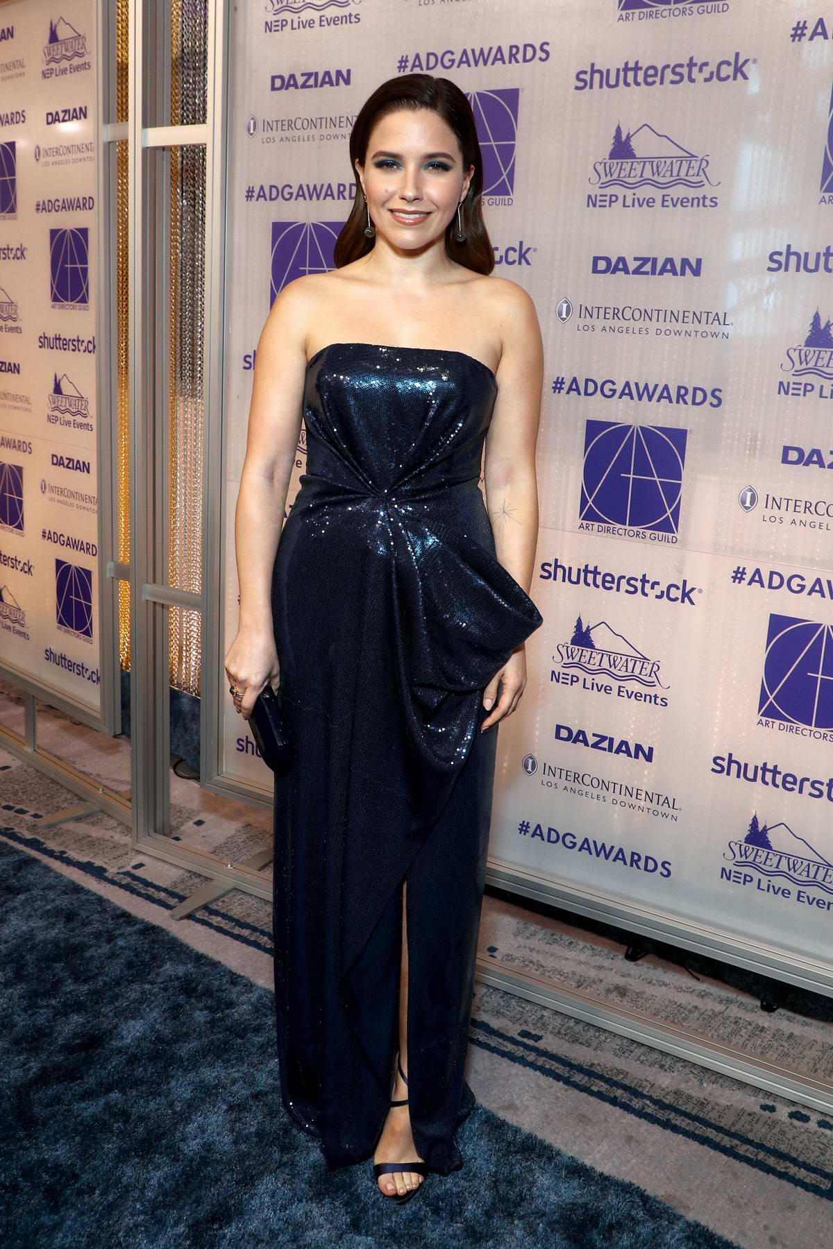 Sophia Bush attends the 23rd Annual Art Directors Guild Awards in Los Angeles