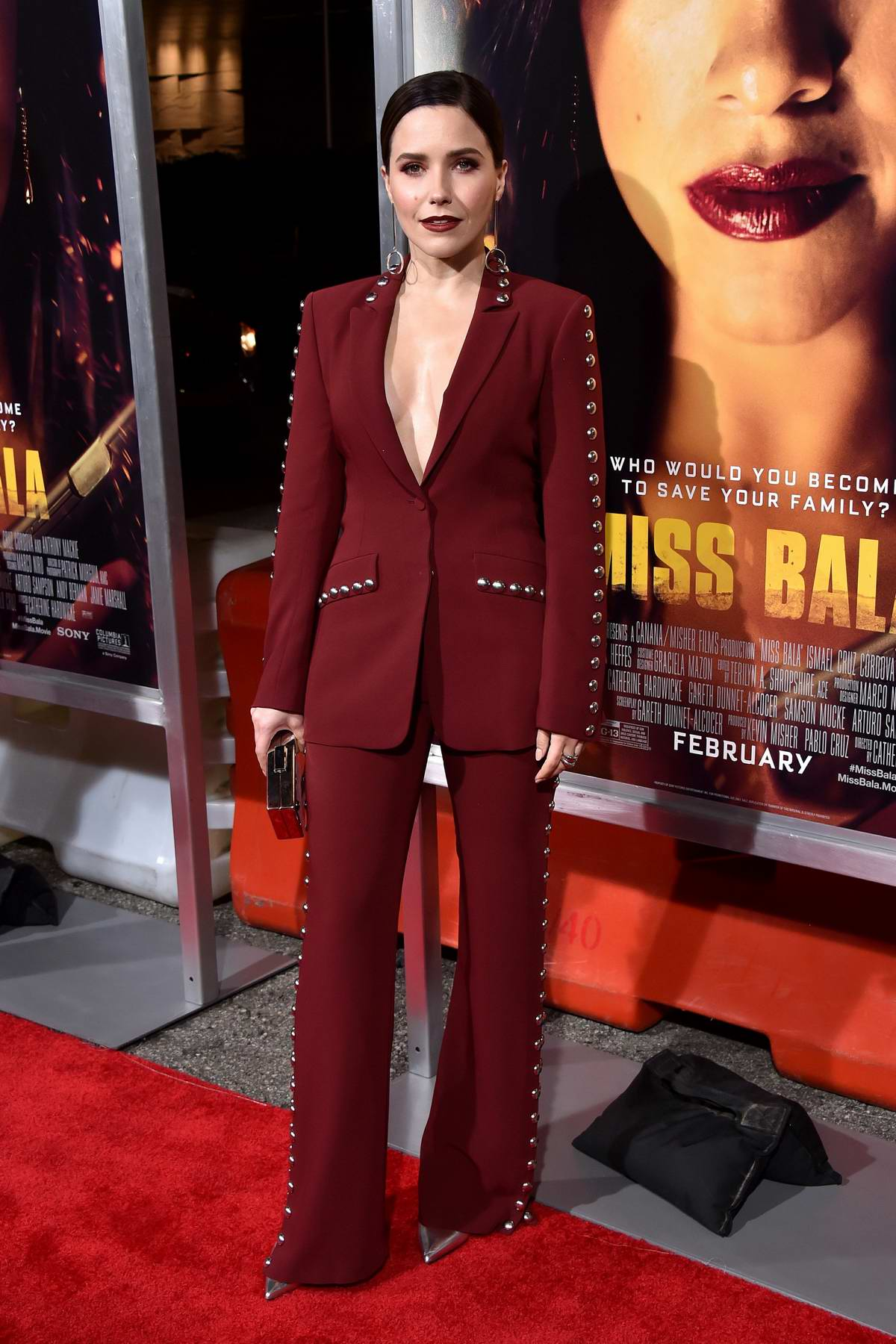 Sophia Bush attends the premiere of 'Miss Bala' at Regal LA Live Theatre in Los Angeles