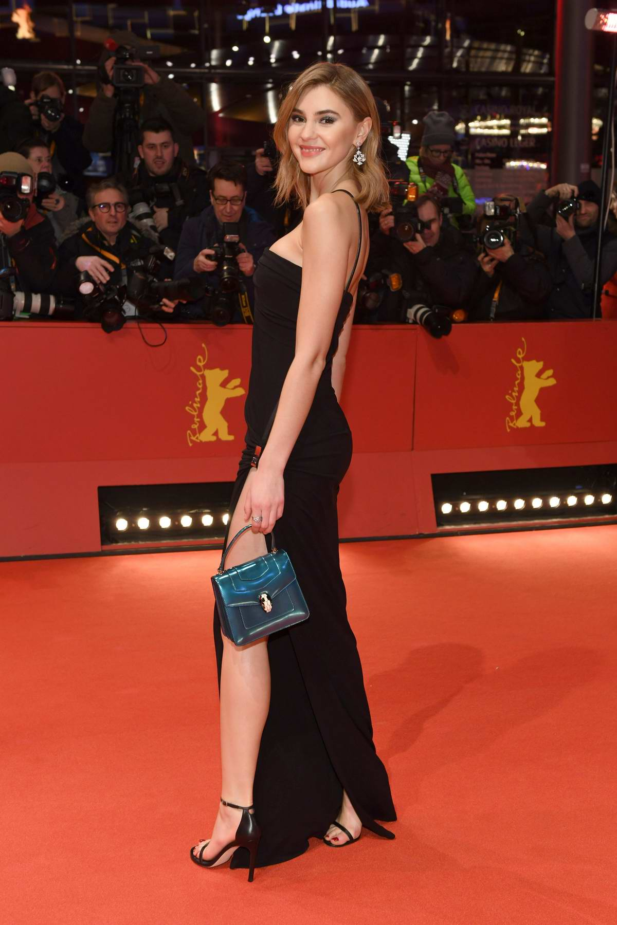 Stefanie Giesinger attends 'By the Grace of God' Premiere during the 69th Berlin International Film Festival in Berlin, Germany