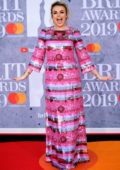 Tallia Storm attends The BRIT Awards 2019 held at The O2 Arena in London, UK