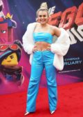 Tallia Storm attends the London Premiere of The Lego Movie 2: The Second Part at Cineworld in Leicester Square, London, UK