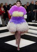 Taylor Hill walks the runway at Tomo Koizumi Fall/Winter 2019 during New York Fashion Week in New York City