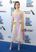 Thomasin Mckenzie attends the 34th Film Independent Spirit Awards in Santa Monica, California