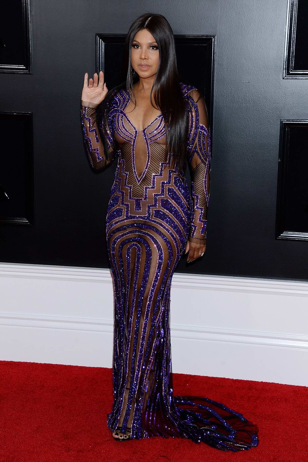 Toni Braxton attends the 61st Annual GRAMMY Awards (2019 GRAMMYs) at Staples Center in Los Angeles