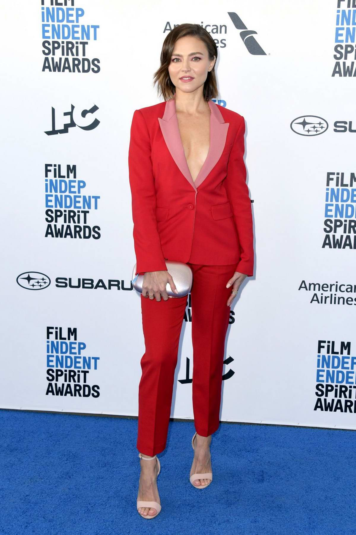 Trieste Kelly Dunn attends the 34th Film Independent Spirit Awards in Santa Monica, California
