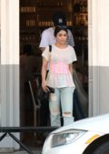 Vanessa Hudgens and Austin Butler grabs lunch at Kismet in Los Angeles