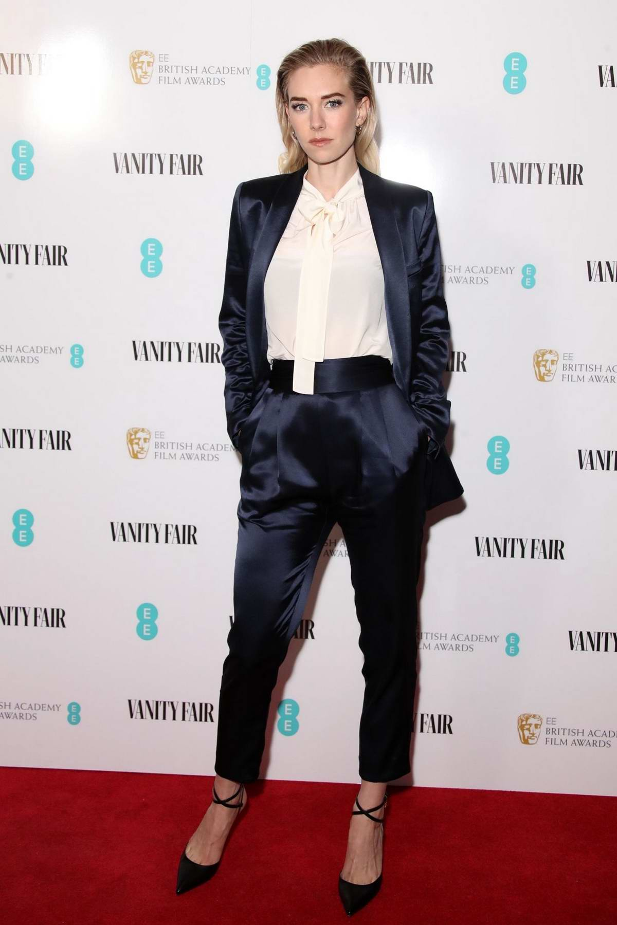 Vanessa Kirby attends Vanity Fair EE Rising Star Party at The Baptist in London, UK