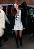 Victoria Justice attends the Alice + Olivia fashion show during New York Fashion Week in New York City
