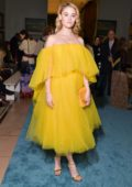 Virginia Gardner attends the Carolina Herrera fashion show during New York Fashion Week in New York City