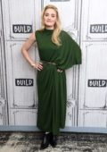 AJ Michalka visits the Build Series to discuss the sitcom 'Schooled' in New York City