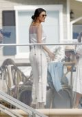 Alessandra Ambrosio attends Jacquie Aiche's Gypsy Brunch at Malibu Beach Inn in Malibu, California