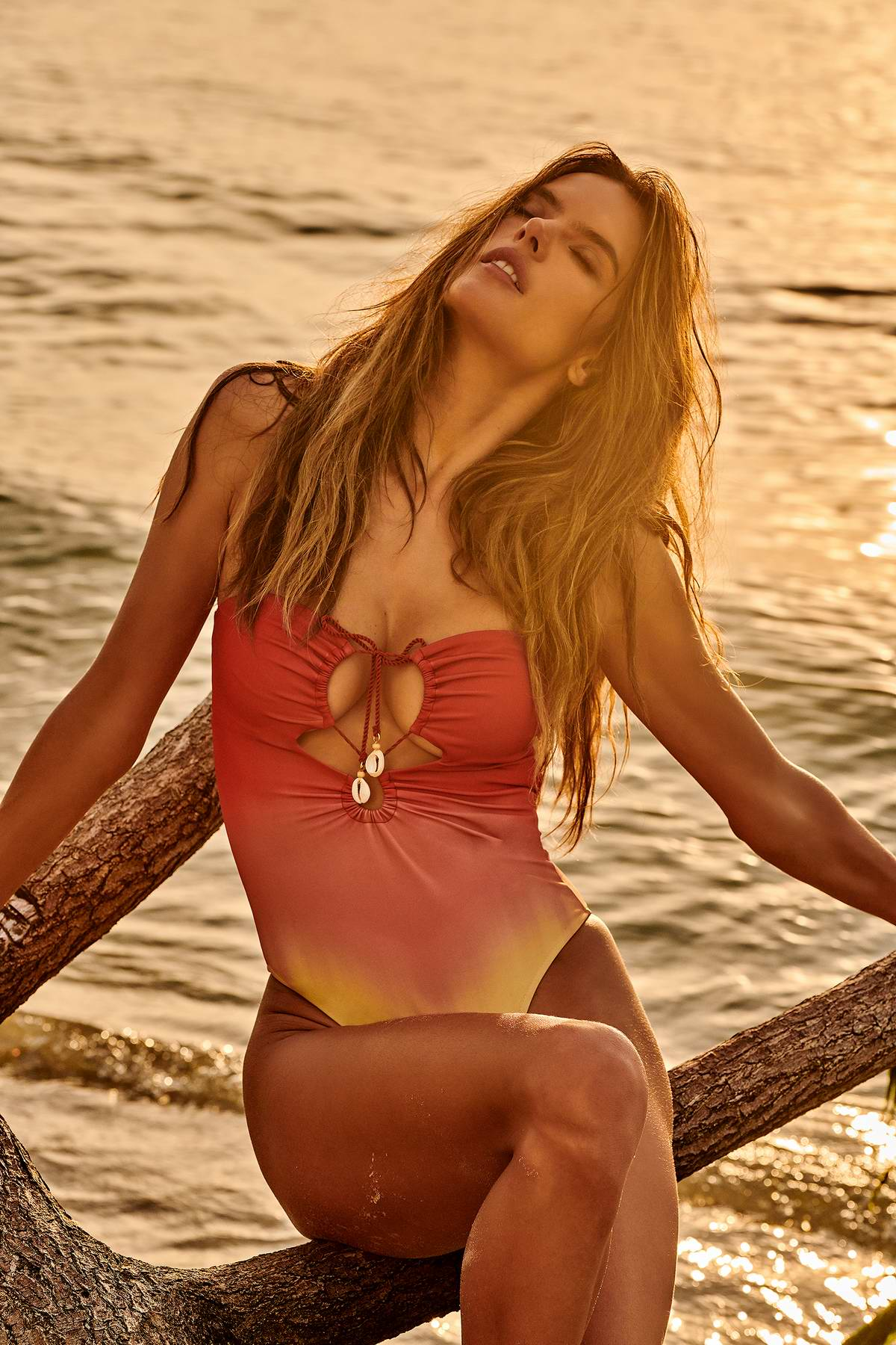 Alessandra Ambrosio dives into swimwear once again with GAL Floripa 2019 collection