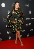 Aly Raisman attends the A&E Network Upfront in New York City